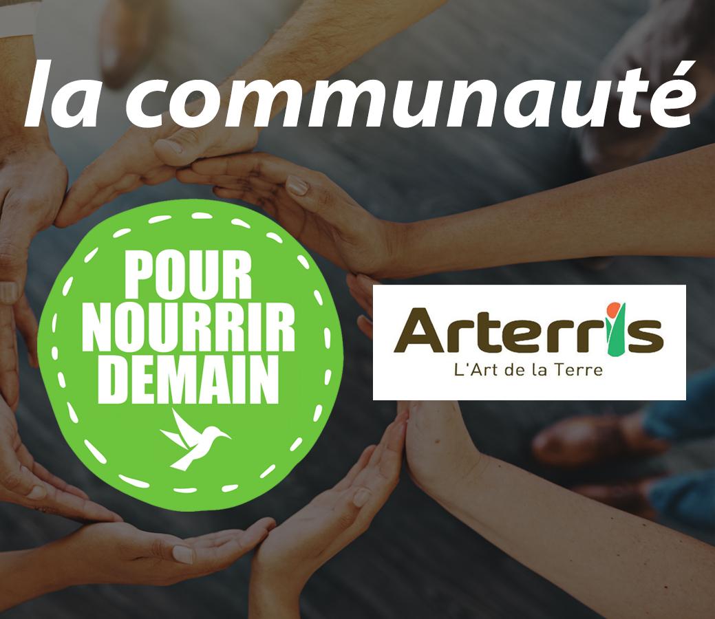 Arterris - Arterris rejoint la Communauté Pour nourrir demain