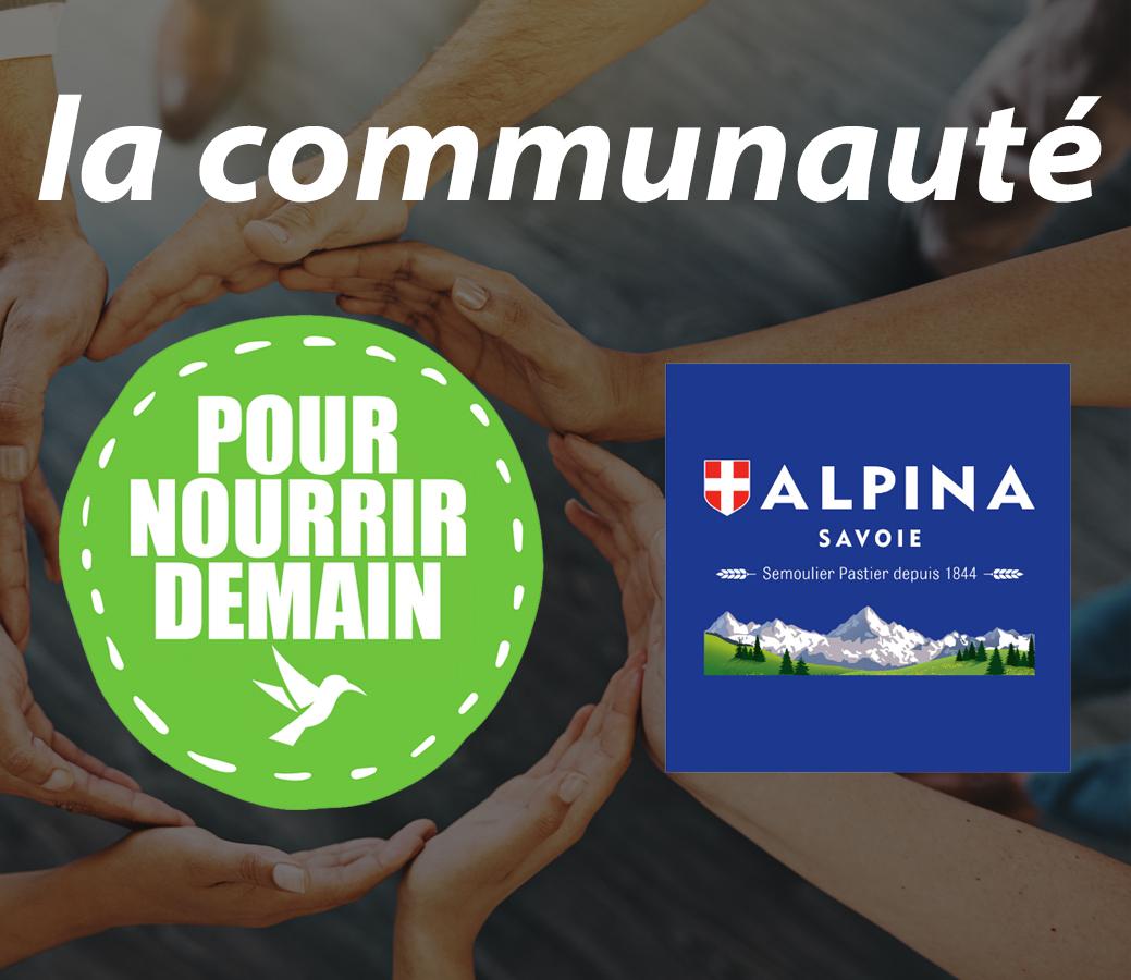 alpina savoie - Alpina Savoie rejoint la Communauté Pour nourrir demain