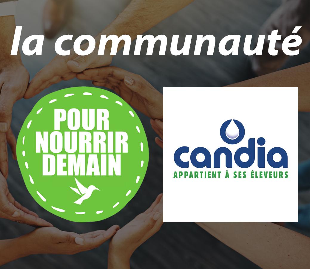candia - Candia rejoint la Communauté Pour nourrir demain