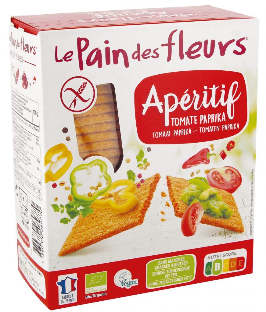 lpdf 8977 tartines craquantes apero tomates paprika 150G 2019 872x1024 - Un apéritif 100% bio avec le Pain des fleurs