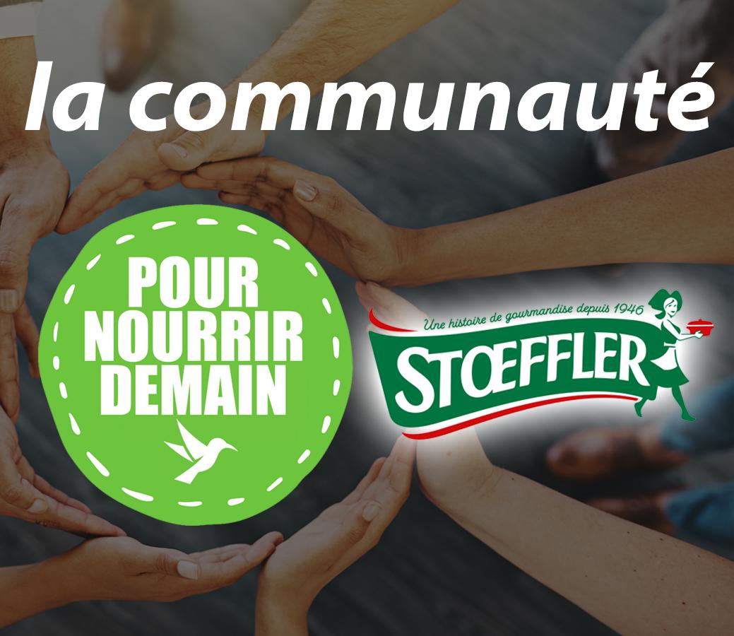stoeffler - Stoeffler rejoint la Communauté Pour nourrir demain