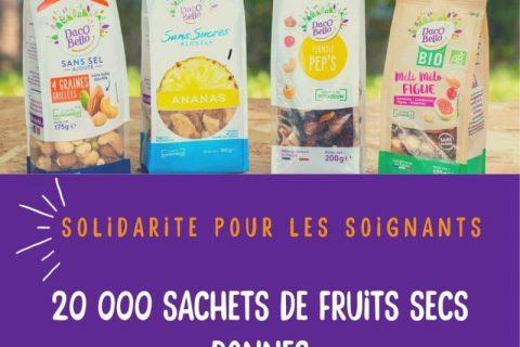 0 5 480x320 - Des sachets de fruits secs Daco Bello pour les soignants