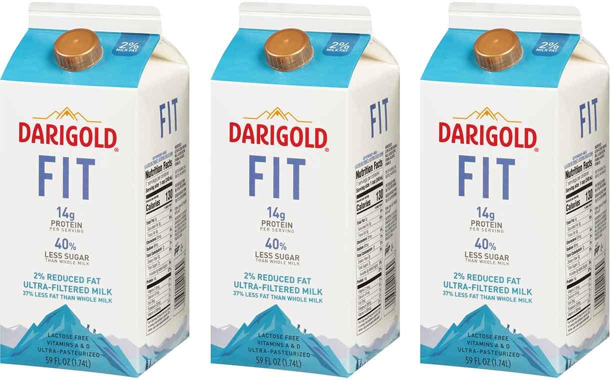 2 5 - Du lait à haute valeur protéique avec moins de sucre