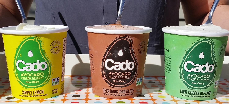 4 - De la crème glacée à base d'avocat