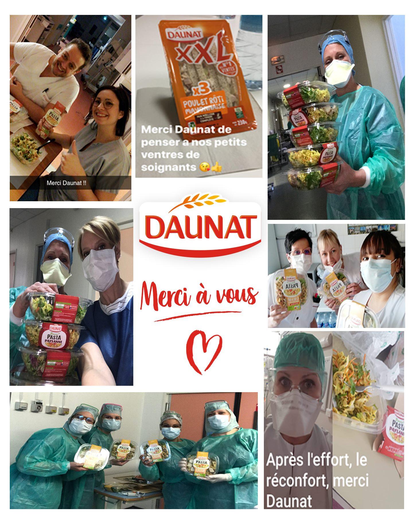 91049545 1539266542913308 6691434926908112896 o - Daunat soutient le personnel soignant