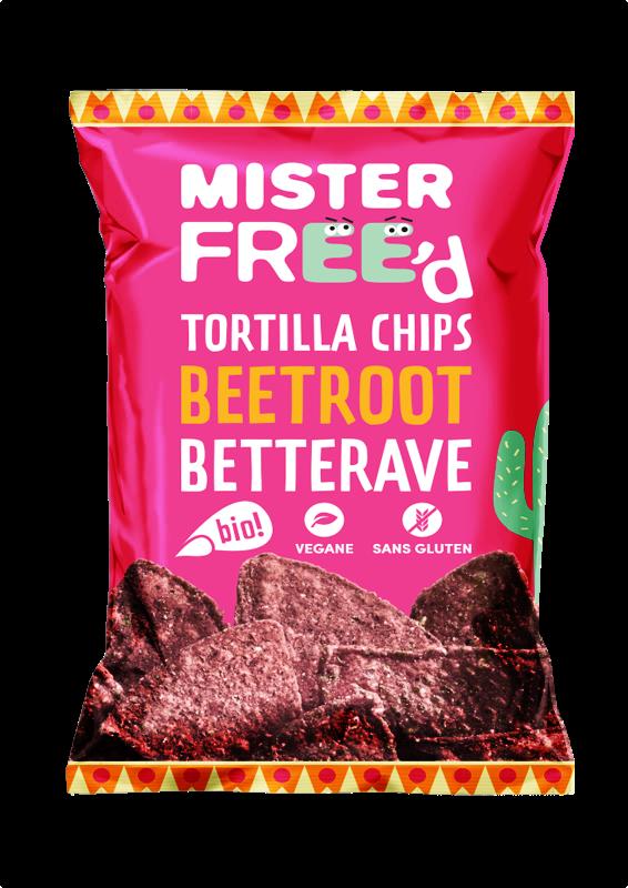 Betterave BIO - Mister Free'd revisite la classique tortilla