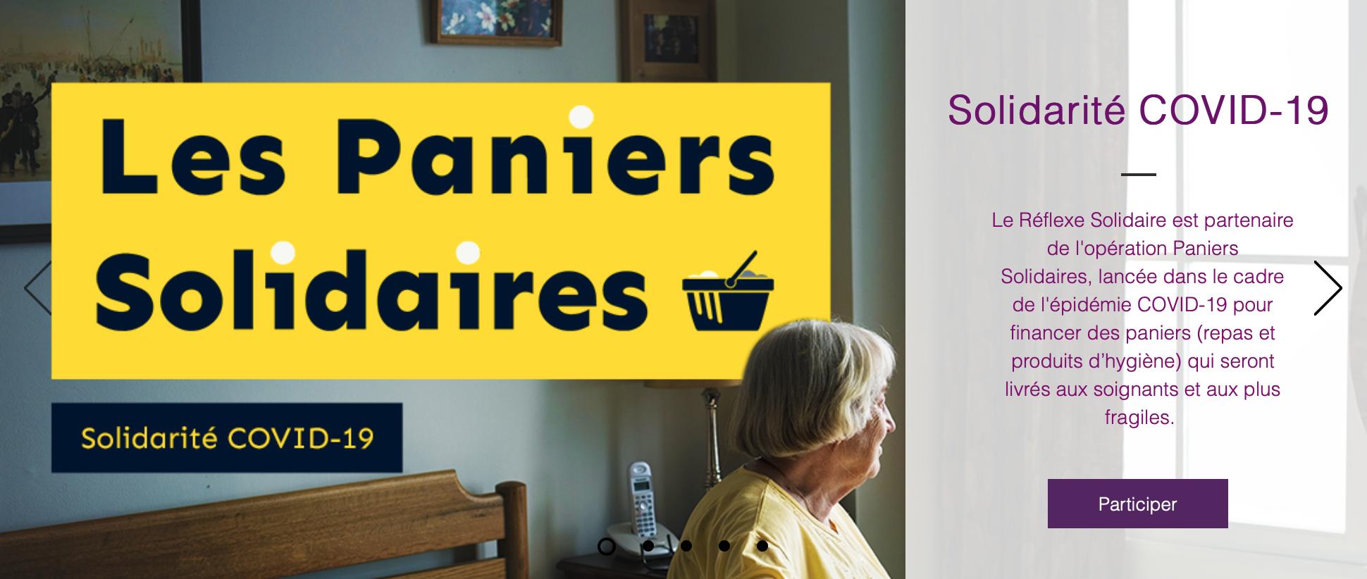 Capture d'écran 2020 03 20 à 18.00.57 - Les Paniers Solidaires : offrons des paniers repas pour les soignants et les plus fragiles !