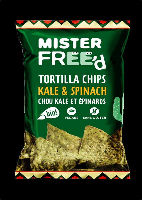 Chou Kale Epinard BIO - Mister Free'd revisite la classique tortilla