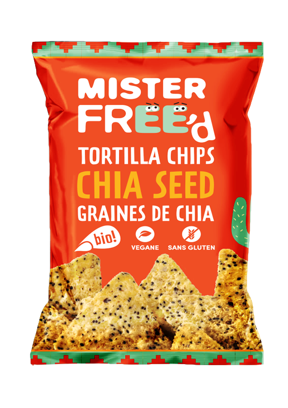 Graines de Chia BIO - Mister Free'd revisite la classique tortilla