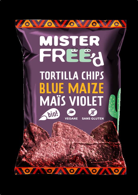 Maïs Violet BIO - Mister Free'd revisite la classique tortilla