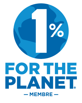 Membre VerticalLogo Color - Pour nourrir demain rejoint 1% for the Planet