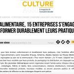 cultureagri 150x150 - (média) Agro-alimentaire, 15 entreprises s'engagent à transformer durablement leurs pratiques - Culture Agri