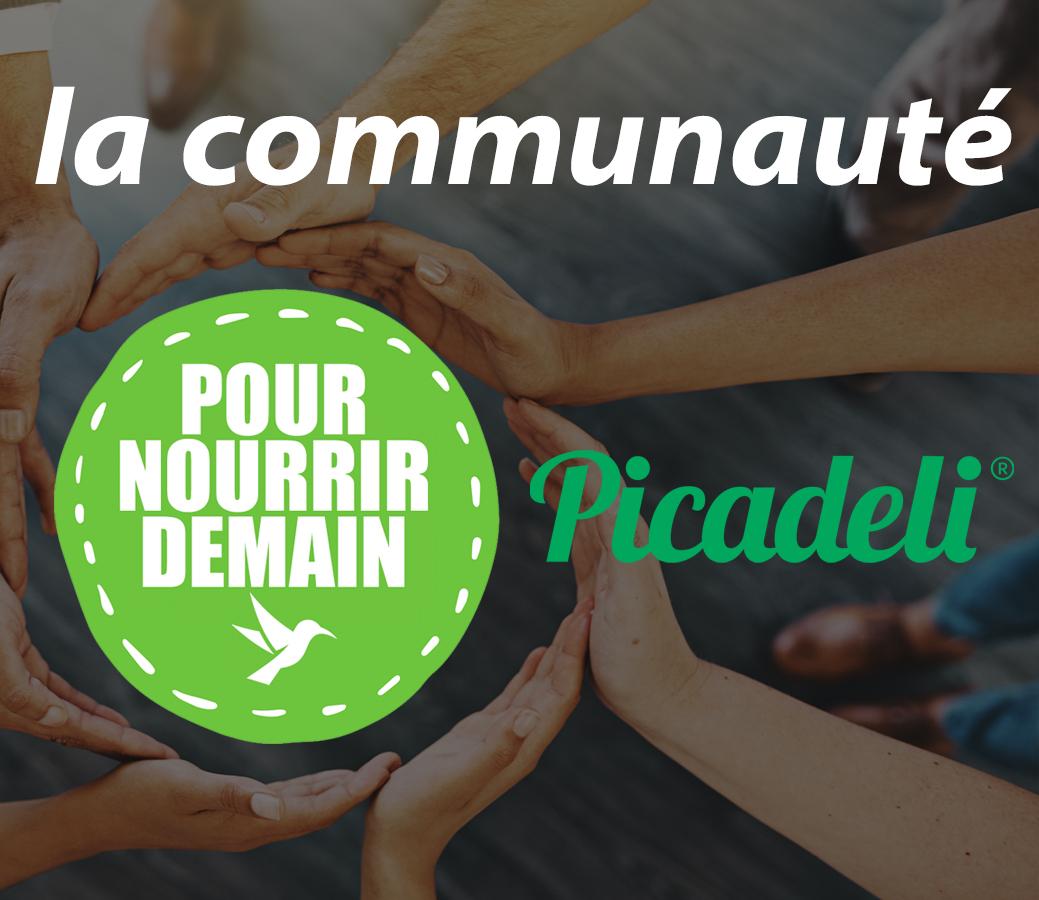 picadeli - Picadeli rejoint la Communauté Pour nourrir demain