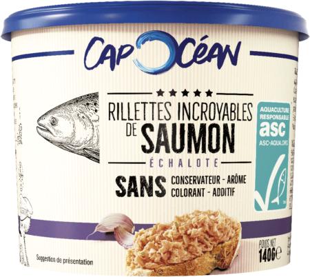 1 Premium Saumon Echalote A min 1 450x402 1 - Les rillettes incroyables de la mer de Cap Océan