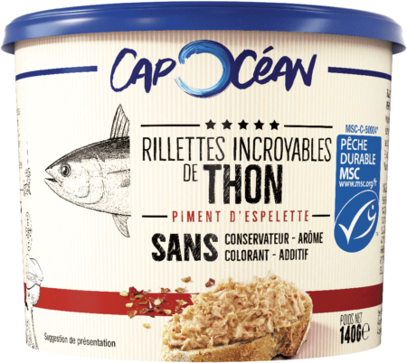 1 Premium Thon Piment Espelette A min 450x402 1 - Les rillettes incroyables de la mer de Cap Océan