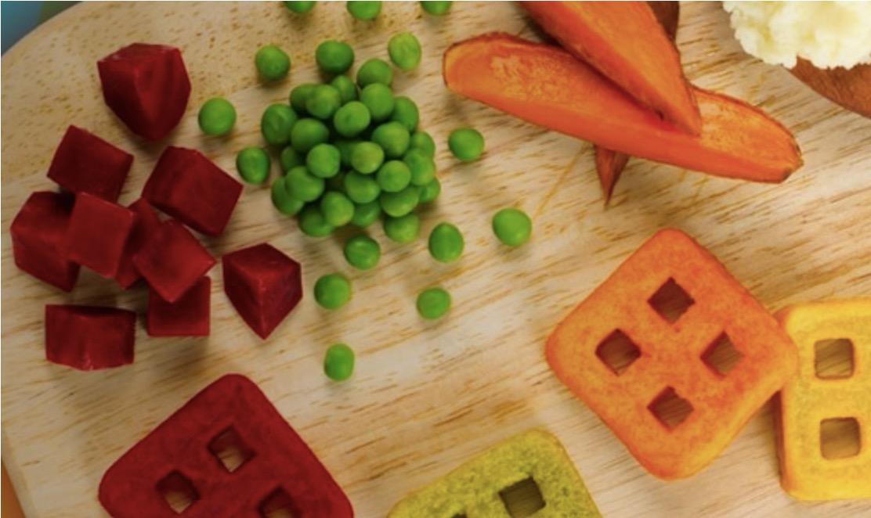 2 4 - Des mini gaufres aux légumes
