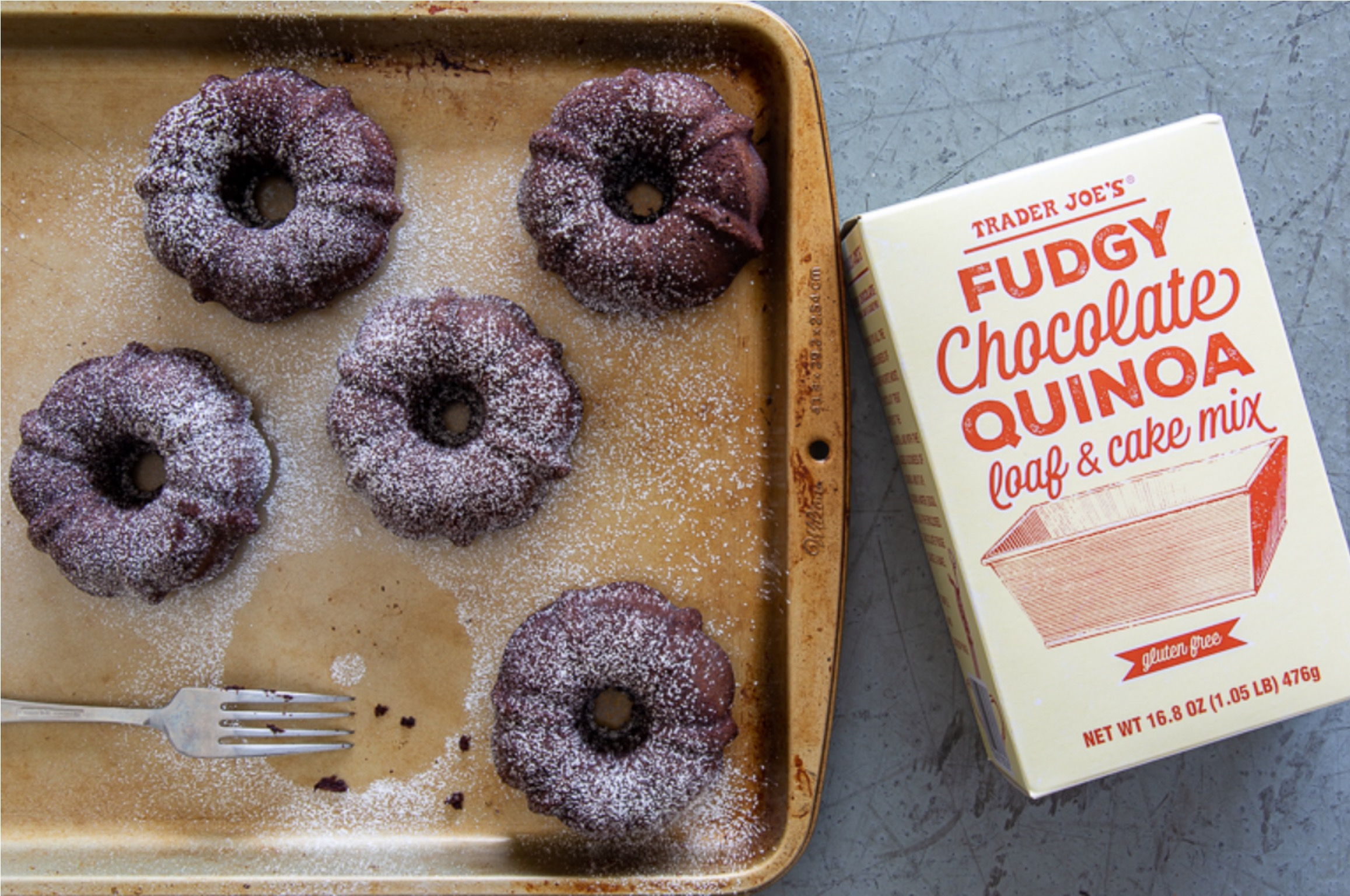 3 5 - Du quinoa dans un gâteau au chocolat