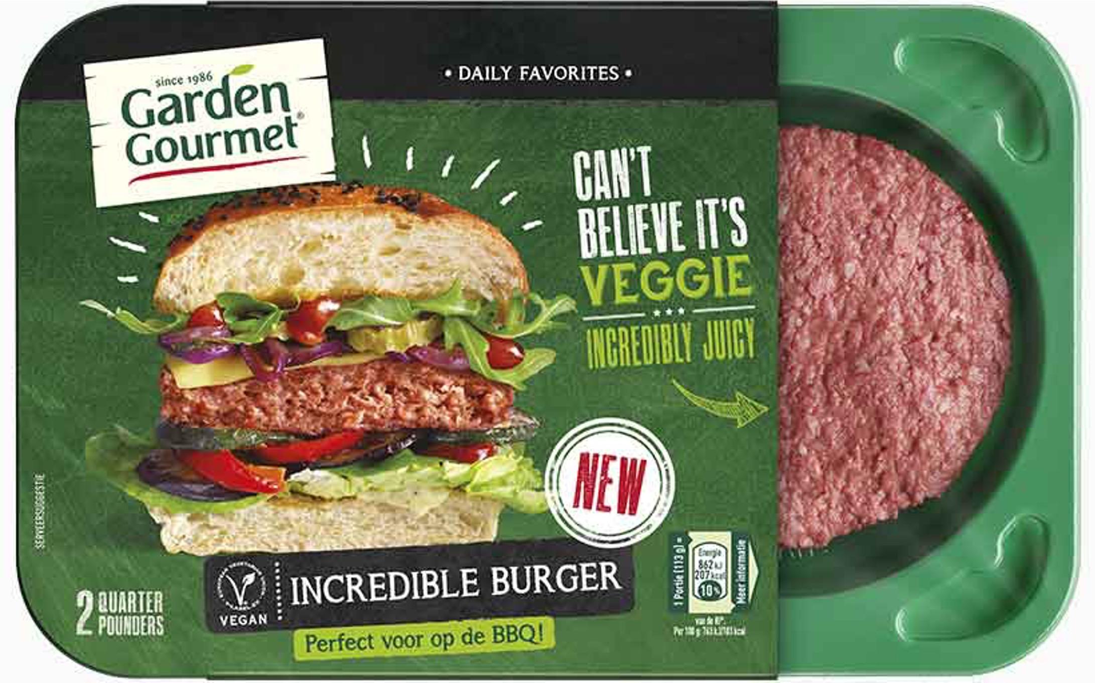 5 3 - Un hamburger 100% végétal