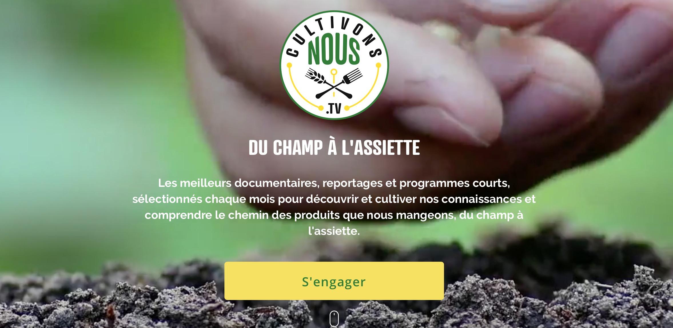 Capture d'écran 2020 04 30 à 16.46.03 - Cultivonsnous.tv, un nouveau média pour découvrir, expliquer et comprendre ceux qui nous nourrissent