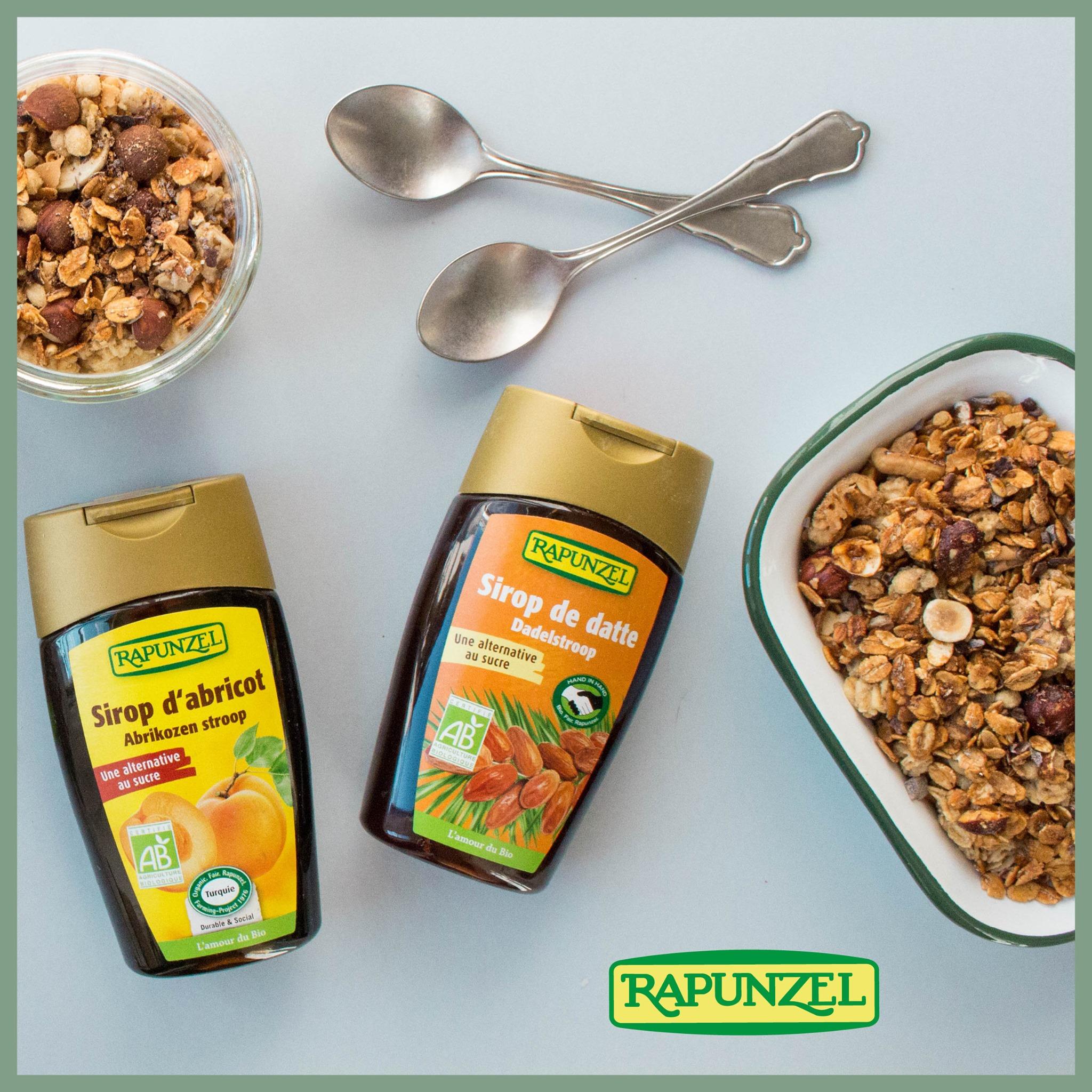 Sirops20Rapunzel - Dessirops naturels composés de fruits issus de l'agriculture biologique