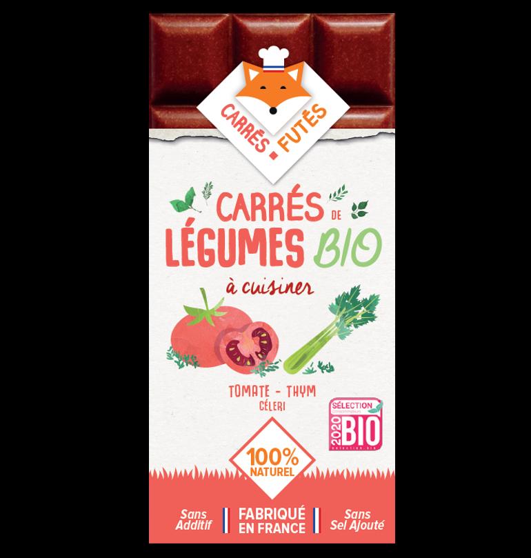 bf bio tomate recto - Les Carrés Futés passent au bio