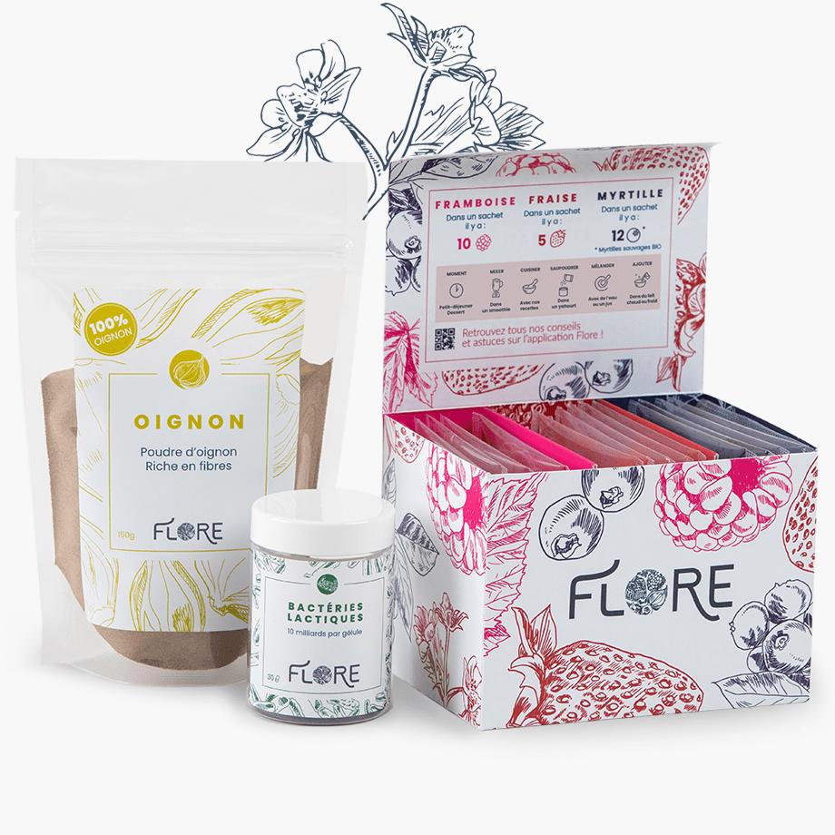 boite flore@2x.jpg - Flore, un kit complet pour améliorer son microbiote au quotidien