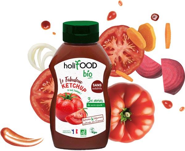 ketchup - Le Fabuleux Ketchup Bio de Holifood