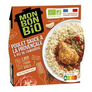 2002082 LBC Poulet Provencale 300g Trois Quart E Commerce 300x300 - Plus que du bio : du bon et du Made in France avec la nouvelle marque Mon Bon Bio !