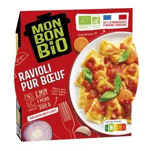 2002082 LBC Ravioli Pur Bœuf 300g Trois Quart E Commerce 300x300 - Plus que du bio : du bon et du Made in France avec la nouvelle marque Mon Bon Bio !