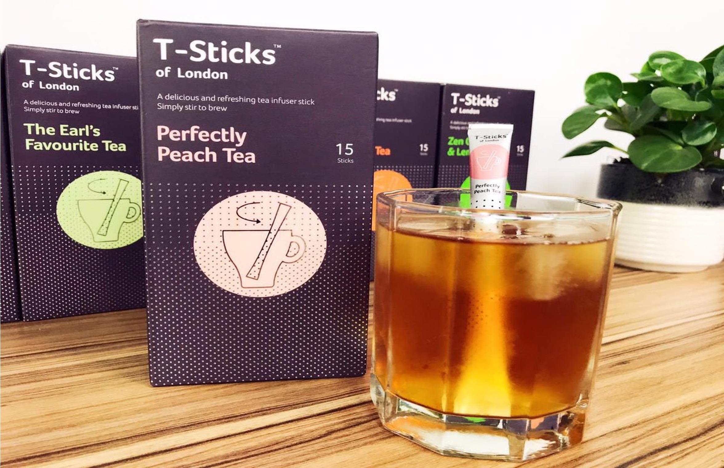 4 - Une nouvelle façon de boire du thé
