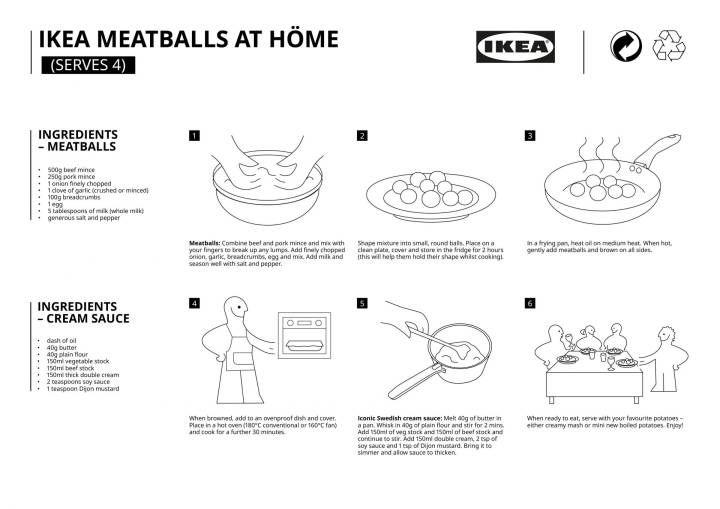 428189 1 800 - IKEA dévoile sa recette suédoise de boulettes de viande pour les cuisiner chez soi