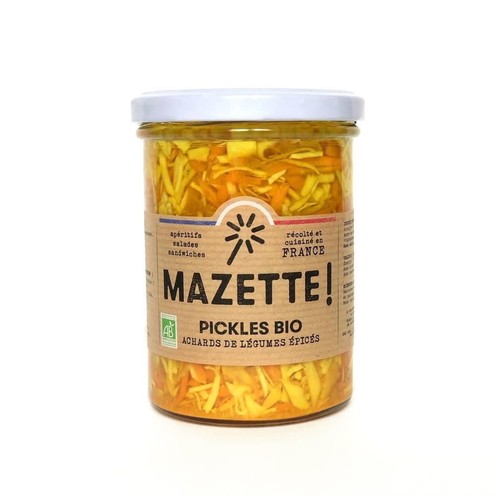 514691 157845 - LES 3 CHOUETTES lancent les pickles MAZETTE!