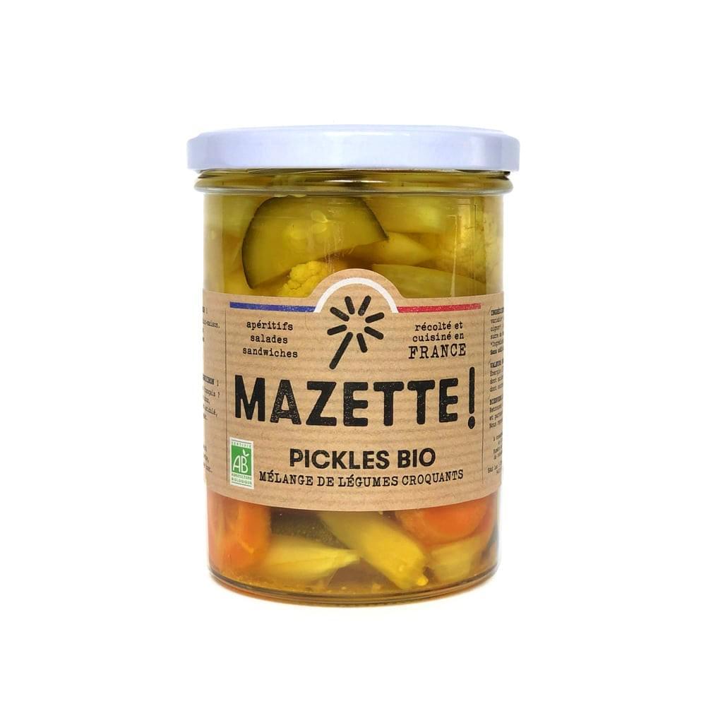 999824 756803 - LES 3 CHOUETTES lancent les pickles MAZETTE!