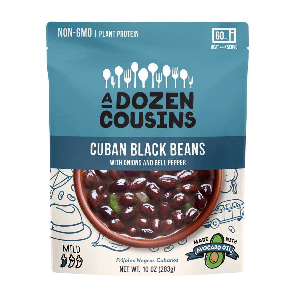 CUBAN BLACK BEANS - Douze cousins pour des recettes de haricots