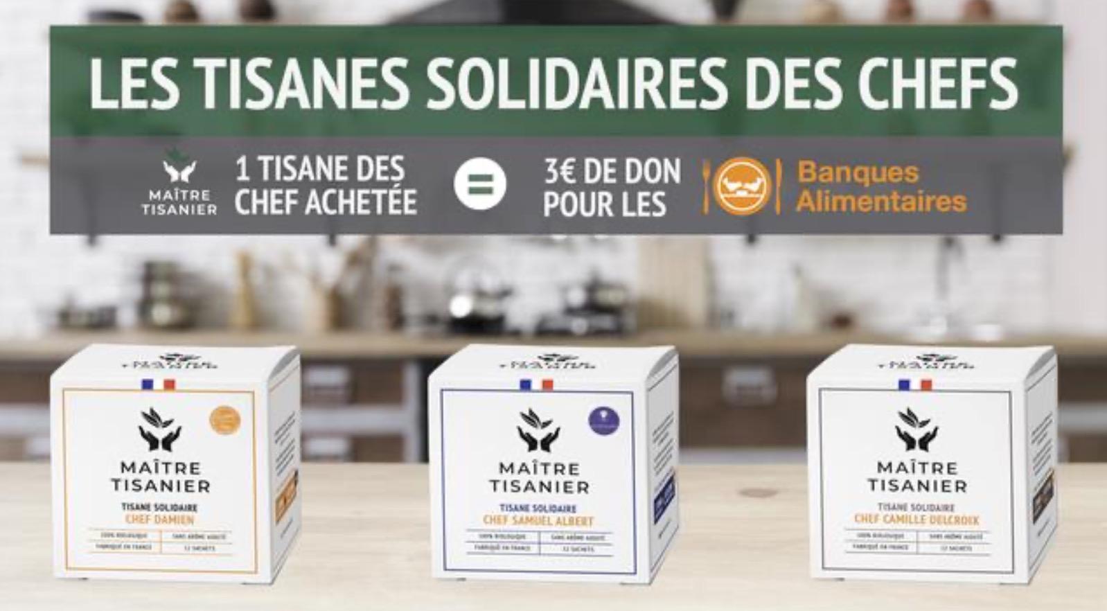 Capture d'écran 2020 05 22 à 15.00.36 - Trois chefs s'associent pour créer « Les Tisanes solidaires des Chefs »