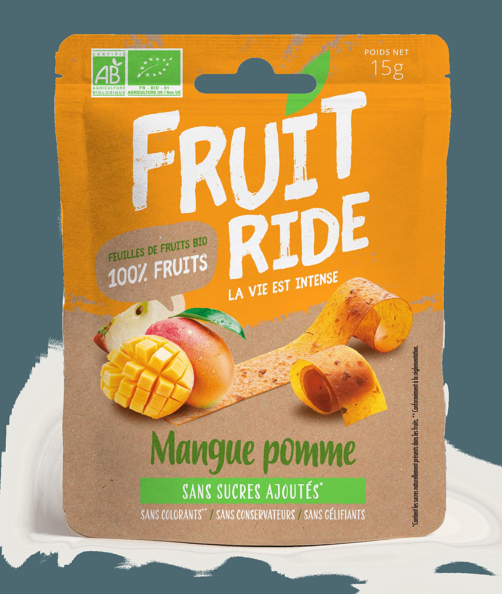 Fruit Ride MANGUE RECTO - Des fruits en rouleaux