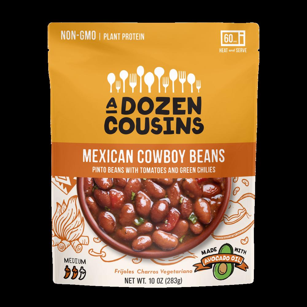 MEXICAN COWBOY BEANS - Douze cousins pour des recettes de haricots
