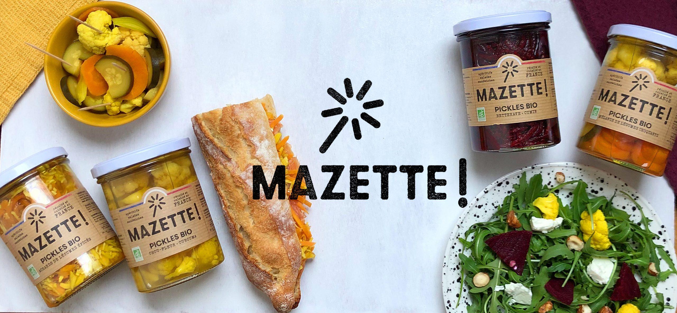 Pickles Mazette 4 bocaux scaled - LES 3 CHOUETTES lancent les pickles MAZETTE!