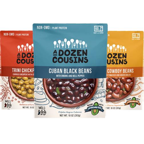 ProductLineupSquare - Douze cousins pour des recettes de haricots