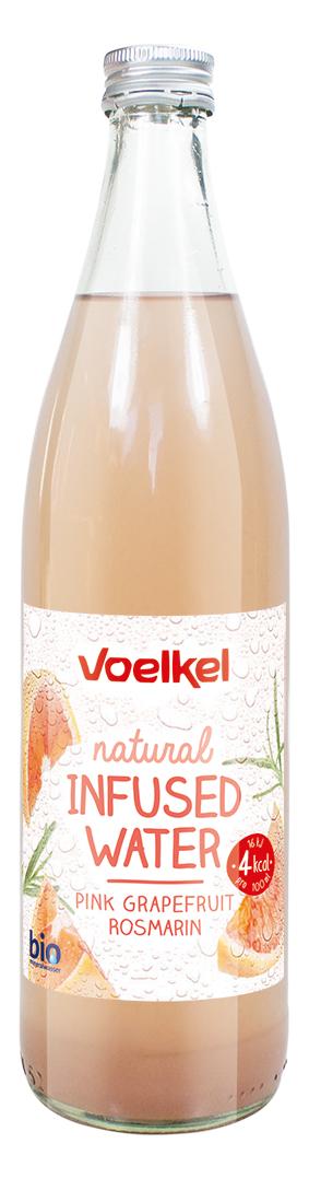 VisuelEauInfuseePamplemousseRomarinVOELKEL - La boisson de l'été selon VOELKEL : une eau infusée pamplemousse et romarin