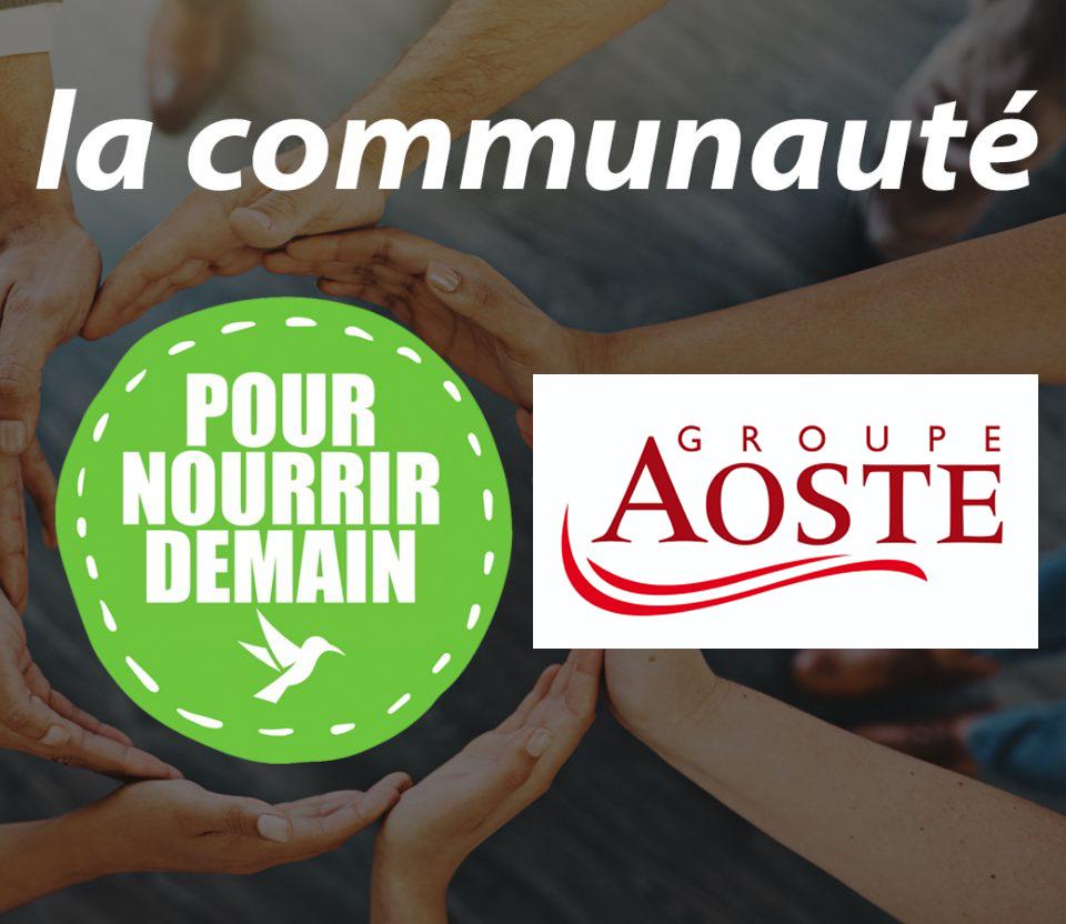 aoste - Groupe Aoste rejoint la Communauté Pour nourrir demain
