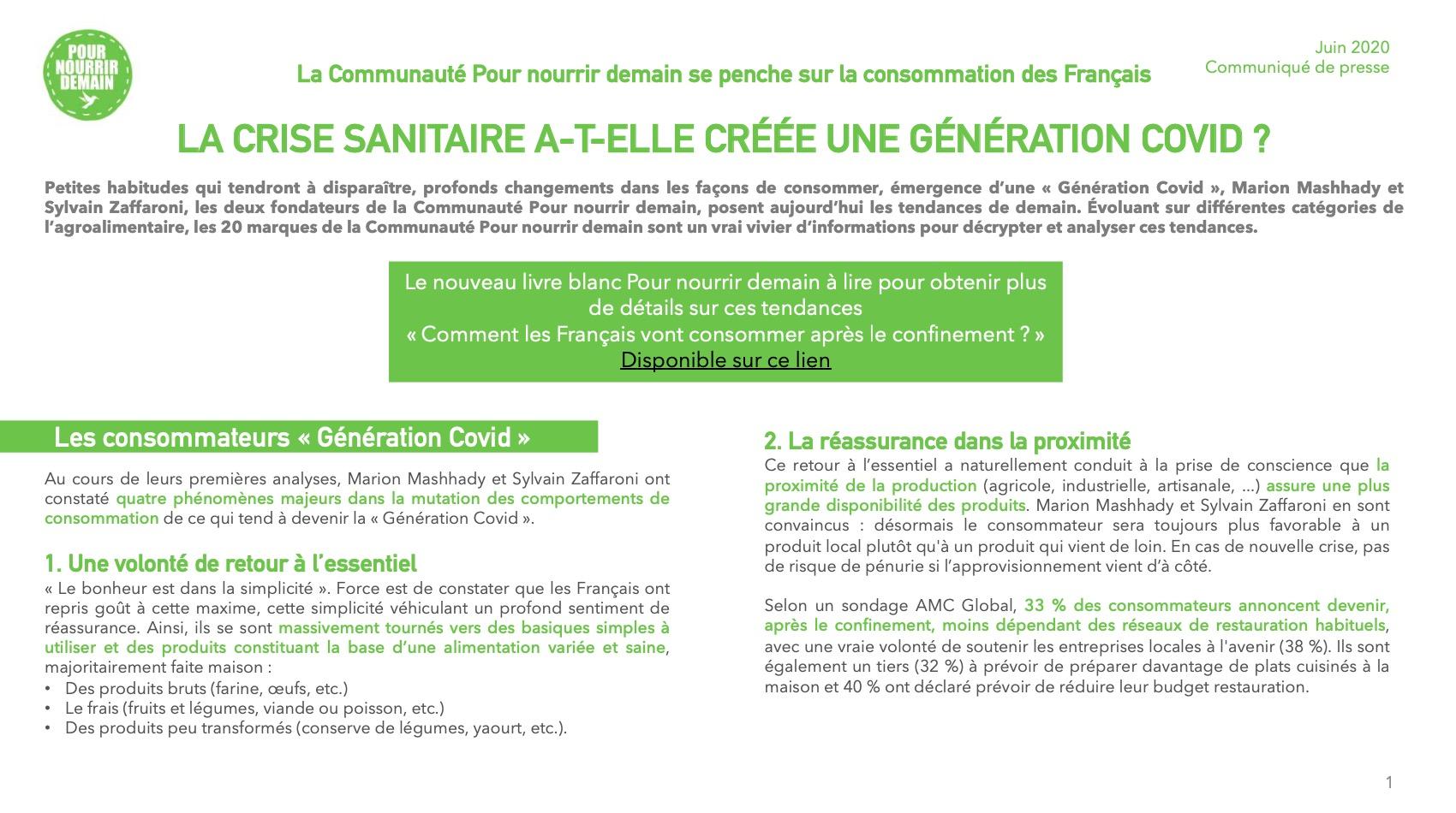 Capture d'écran 2020 06 02 à 11.19.36 - La Communauté Pour nourrir demain se penche sur la consommation des Français (Communiqué de presse)