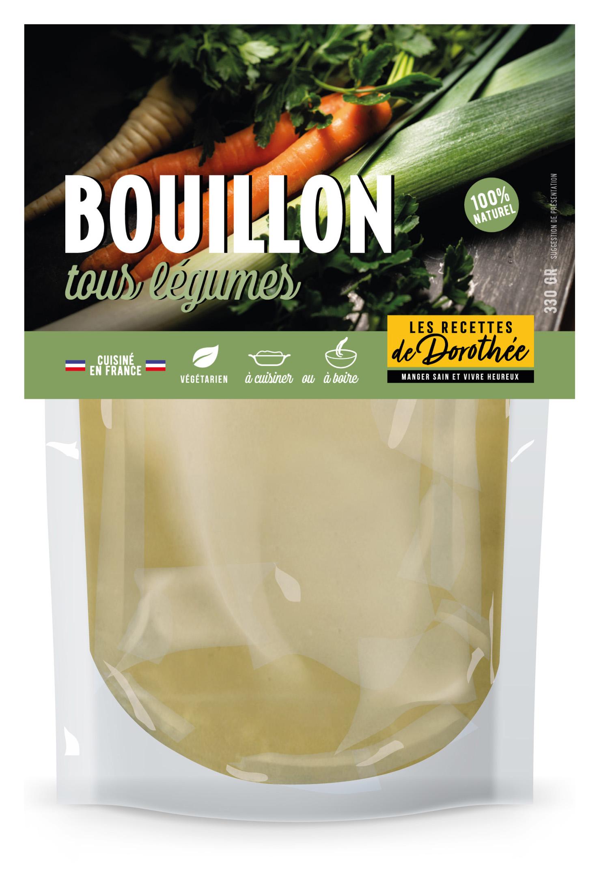 LRD Doypack légumes - BOUILLON, des bouillons frais 100% naturels