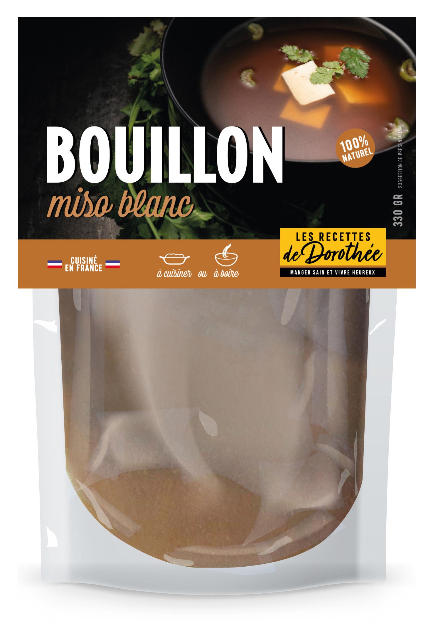 LRD Doypack miso - BOUILLON, des bouillons frais 100% naturels