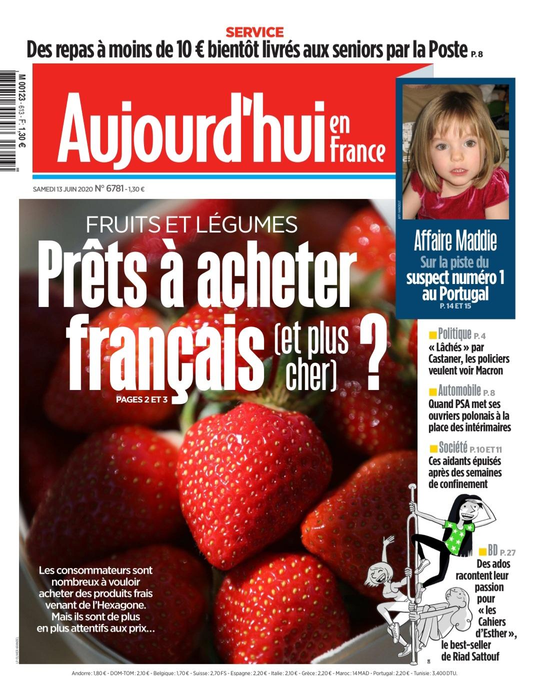 """WhatsApp Image 2020 06 13 at 10.51.26 - Intervention pour Le Parisien / Aujourd'hui en France : """"Des fruits et légumes français, oui... mais à quel prix ?"""""""