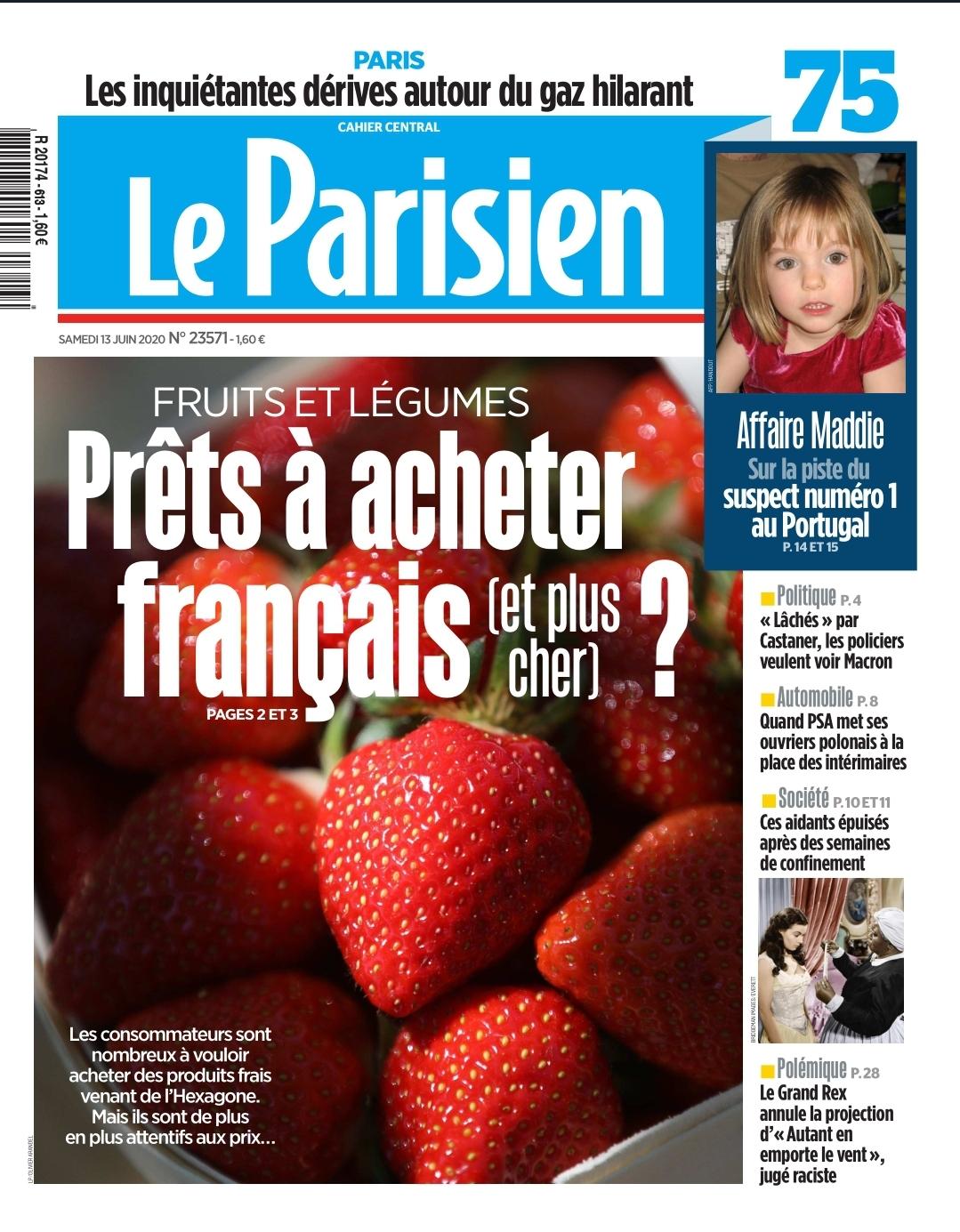 """WhatsApp Image 2020 06 13 at 10.51.27 1 copie 1 - Intervention pour Le Parisien / Aujourd'hui en France : """"Des fruits et légumes français, oui... mais à quel prix ?"""""""