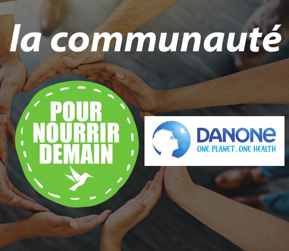 danone - Danone rejoint la Communauté Pour nourrir demain