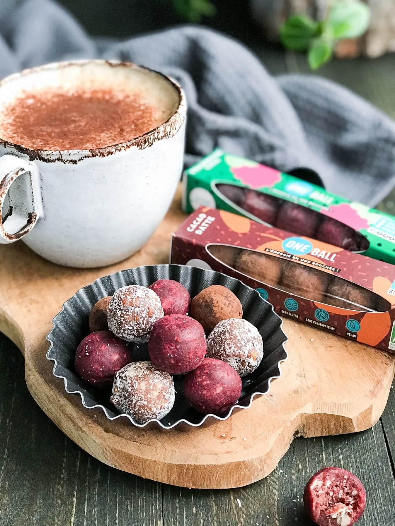 one ball collation saine - One Ball, le snack parfait pour de l'énergie, du naturel et du goût !