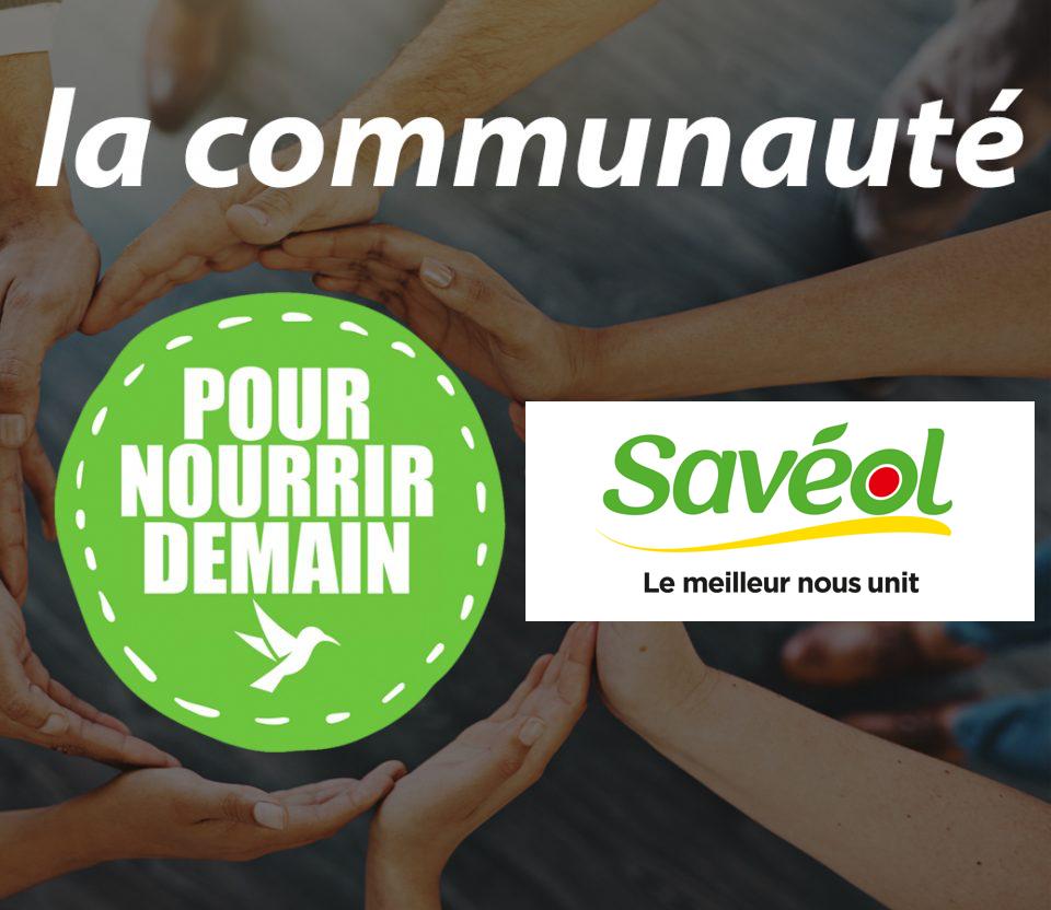saveol - Savéol rejoint la Communauté Pour nourrir demain