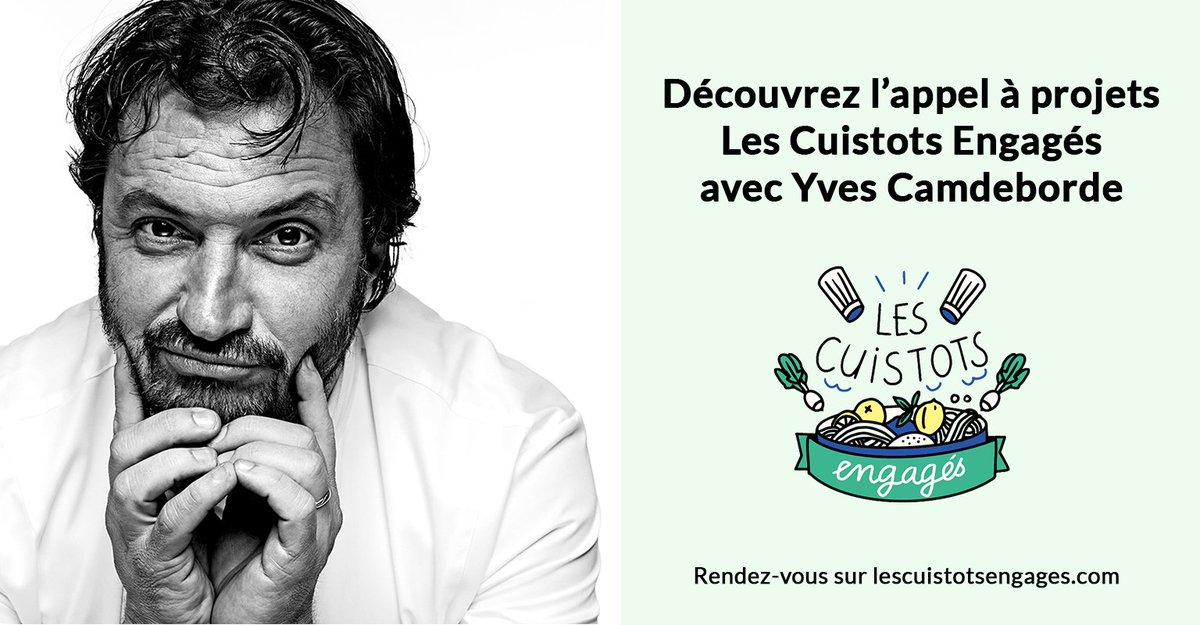 EaxyKc2XYAAWiaI - Les cuistots engagés avec Yves Camdeborde et MiiMosa